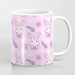 Sakura Bunny // Pink Coffee Mug