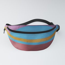 colorful wall Fanny Pack