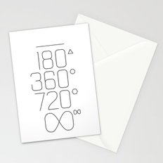 Shapes & Angles Stationery Cards