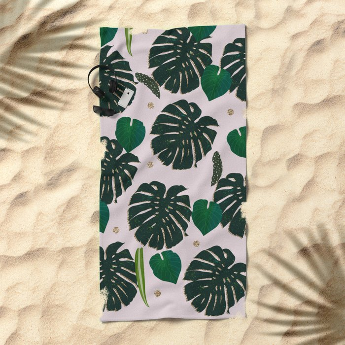 Plant Life Beach Towel