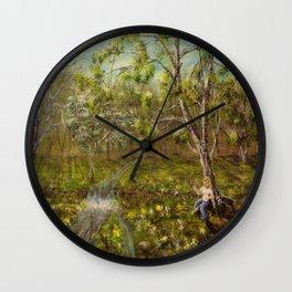 Morning Pickin' Wall Clock