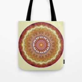 Mandalas from the Heart of Peace 12 Tote Bag