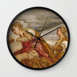 "Tintoretto (Jacopo Robusti) ""The Queen of Sheba and Solomon"" Wall Clock"