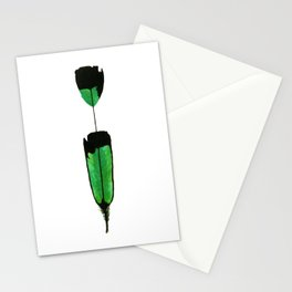 Watercolor Guatemalan Tail feather Stationery Cards