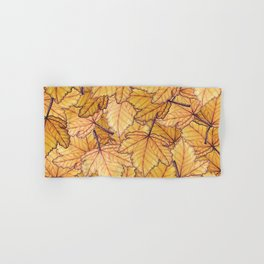 Autumn Leaves Hand & Bath Towel