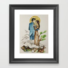 Mother Earth, Father Sky Framed Art Print