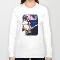 niall horan Long Sleeve T-shirts featuring Niall by clevernessofyou