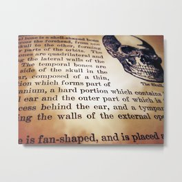 I Just Want Back In Your Head Metal Print
