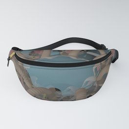 Piece 3 POV Ray Tracing Fanny Pack
