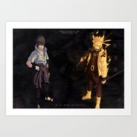 Last step to the victory! Art Print