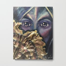 The Sea Queen Is Oh So Shy Metal Print
