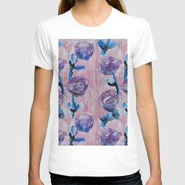 Rose Petals Series Paintings T-shirt