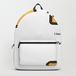 JUST A PUNNY BREAD JOKE! Backpack