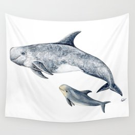 Risso´s Dolphin Wall Tapestry