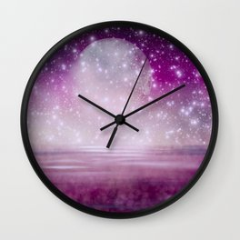 Etherial Planet Wall Clock
