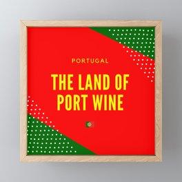 Portugal the Land of Port Wine Framed Mini Art Print