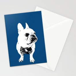 George the cutest French Bulldog Stationery Cards