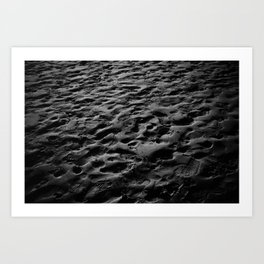 The Sand Art Print