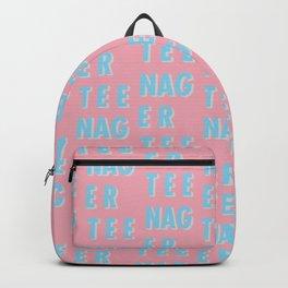 Teenager - Typography Backpack
