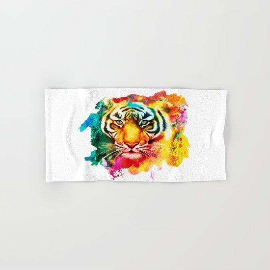 Animal Pattern Hand & Bath Towel
