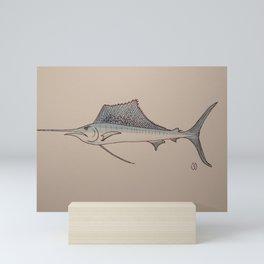 Sailfish  Mini Art Print
