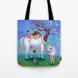 The Unicorn's New Horn Tote Bag