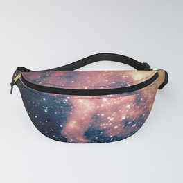 Cool milky way galaxy texture Fanny Pack