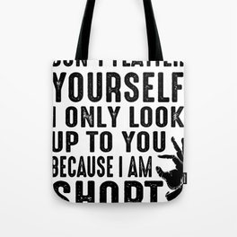 Small Short Dwarf Cute Woman Girlfriend Gift Tote Bag