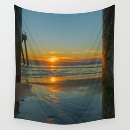 Sunset Bookends Wall Tapestry