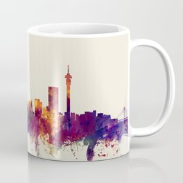 Johannesburg South Africa Skyline Coffee Mug