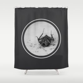 Perder la cabeza Shower Curtain