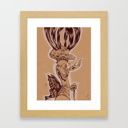 Sunday Conductor Framed Art Print