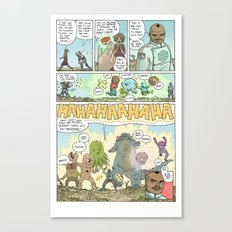 GAMMA page 7 Canvas Print