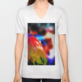 A Wig in the Parade Unisex V-Neck