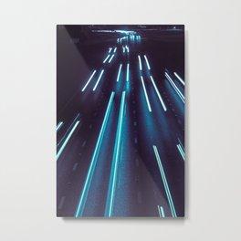 75(glow)2 Metal Print