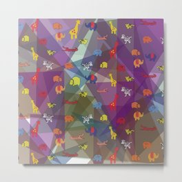 pattern 57 Metal Print