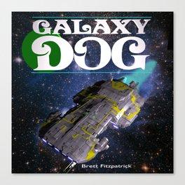 Galaxy Dog Canvas Print