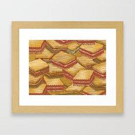 Lasagne Framed Art Print