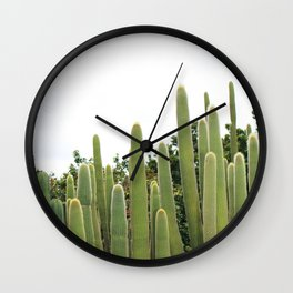 Succulent IV Wall Clock