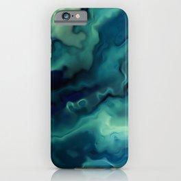 Ocean, Watercolor, Abstract iPhone Case