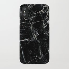Black Marble Edition 1 iPhone Case