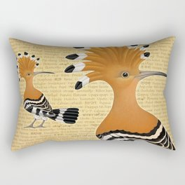 Punky Upupa Rectangular Pillow