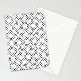 Simply Mod Diamond Black and White Stationery Cards