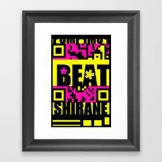 Beat Wins K U R - Shirane Framed Art Print