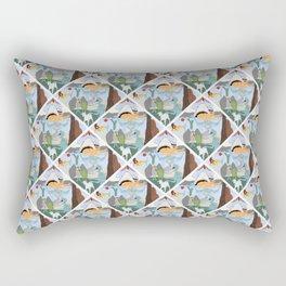 Cryptid Land Rectangular Pillow