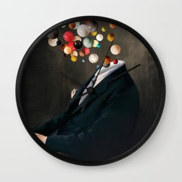Existentialist / Nelson reflects  (2020) Wall Clock