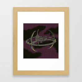 Terok Nor. Framed Art Print