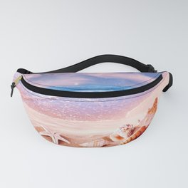 Seashells on the beach Fanny Pack
