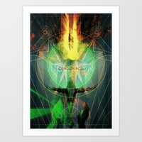 dragon age inquisition Art Prints featuring Inquisition by Lazare Gvimradze