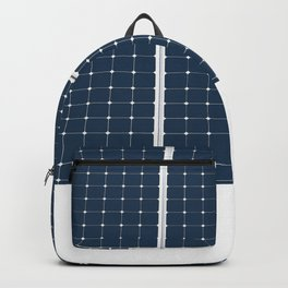 Image Of A Solar Power Panel. Free Clean Energy For Everyone Backpack